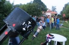 Ifjúsági csillagásztábor a Bakonyban